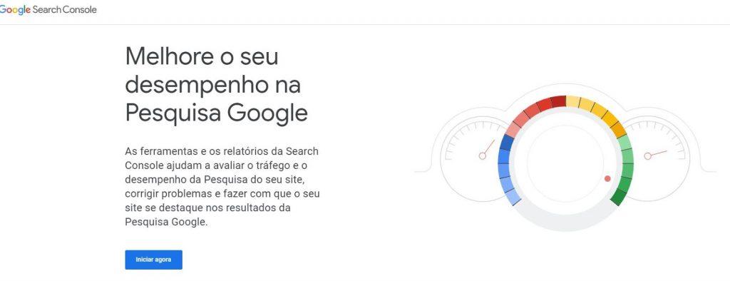 Como configurar o Google Search Console